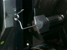 クリップ用ねじりバネ Φ2.6 製造