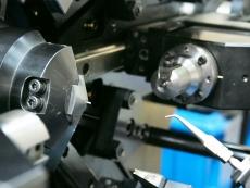 ねじり線加工 SUS304 Φ1.5 製造
