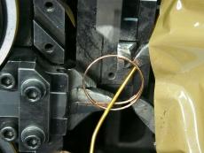 ろう付け用 銅二重リング Φ1.2 製造