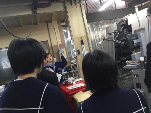 伊達市立霊山中学校工場見学.jpg