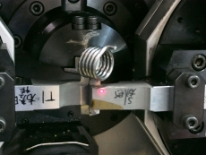 座イス用ねじりバネ Φ3.5 製造
