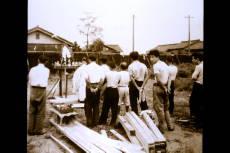 昭和30年工場棟上式.JPG