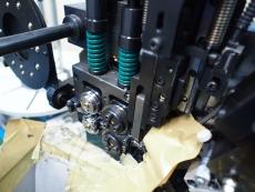 水平器リング Φ0.3 黒染め 製造